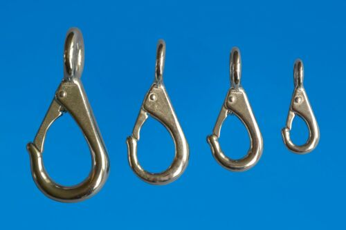 Stainless 316 Fixed Eye Snap Hook marine rigging accessory