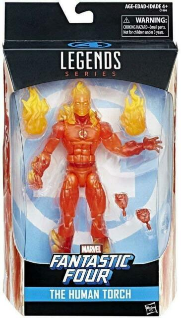 Marvel Legends Exclusive Fantastic Four The Human Torch Action Figure