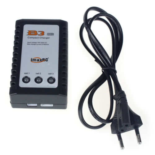 IMAX RC B3 Pro Compact Balance Charger for 2S 3S 7.4//11.1V Lithium LiPo Battery