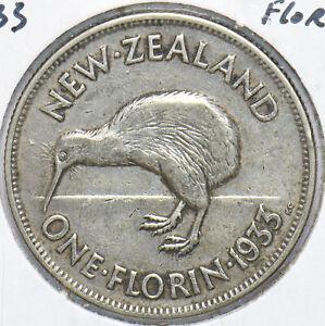 New Zealand 1933 Florin Kiwi Bird animal 192539 combine shipping