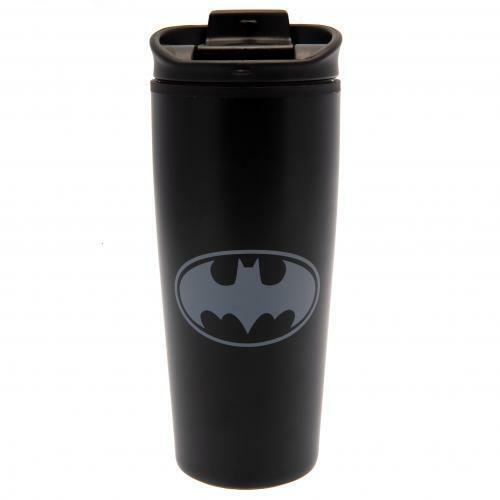 Batman Logo Métal Travel Mug-officiel cadeau