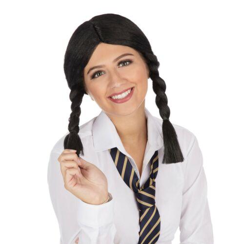 Long Big Plait Wig for Schoolgirl Fancy Dress Accessory