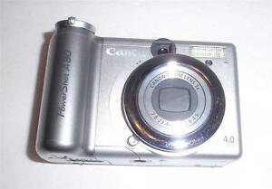 canon pc1059 powershot a80 4 0 mp digital camera for parts or rh ebay com Canon PowerShot A80 Software Cannon PowerShot A80 4 0 Mega Pixels