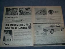 "1965 McKee Transaxle Assemble Vintage Info Article ""A Dependable 4-Speed Combo.."