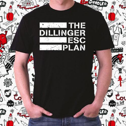 The Dillinger Escape Plan Metal Band Logo Men/'s Black T-Shirt Size S to 3XL