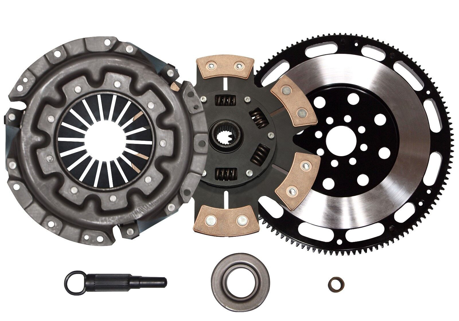 QSC Stage 3 Clutch Kit + Forged Flywheel Fits Nissan 90-96 300ZX 3.0L Non Turbo | eBay