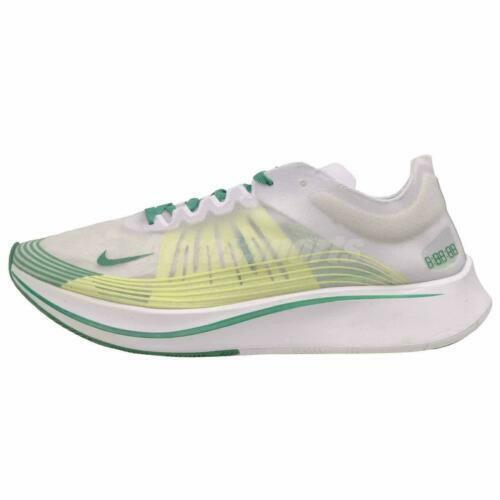ee6d1e71eec8 Nike Zoom Fly SP Hong Kong Mens Running Shoes 11 White Lucid Green Aj9282  101 for sale online
