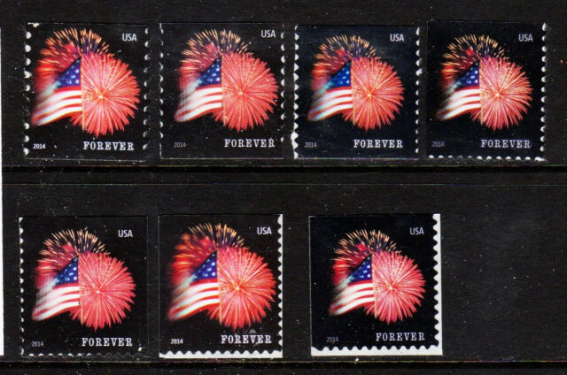 #4853, 4854 etc.. & 2602-3271 Star Spangled Banner & eagle  set/1- Used