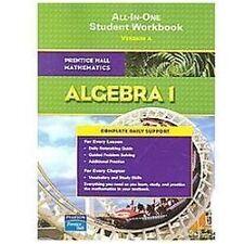 Algebra 1 (2001, Paperback, Workbook)   eBay