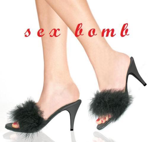 SEXY  7,5 scarpe Sandale camera MARYLIN NERA TACCO 7,5  cm numero 38 51e9de
