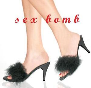 SEXY marylin sabot sandali rosa da camera tacco 75 dal numero 35 al 46 GLAMOUR