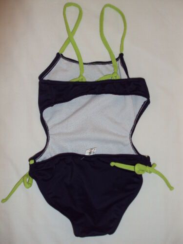 SALE NEW HYDRAULICA LYCRA GIRL NAVY SWIMSUIT BABY SIZE 2 AND 6 K-X