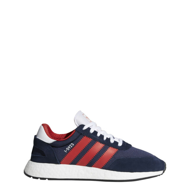 ecd78b713070 adidas I-5923 Boost Iniki Runner Size 12 W box D96819 Blue red white ...