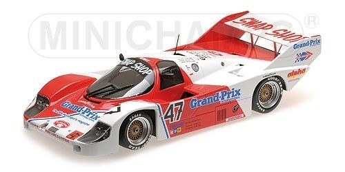 PORSCHE 956k T-BIRD SWAP Galica Sutherland Henn 1000 HM Brands Hatch 1983 1 18