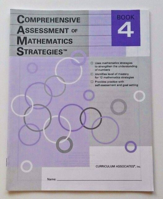 Book Comprehensive Assessment Of Math Strategies 4th Fourth Grade 4 For Sale Online EBay