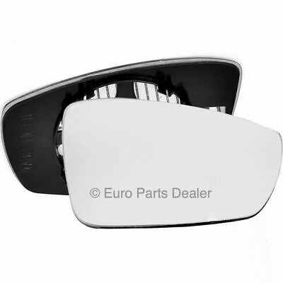 For VW Polo 2009-2017 Right Driver side Flat Electric wing mirror glass plate