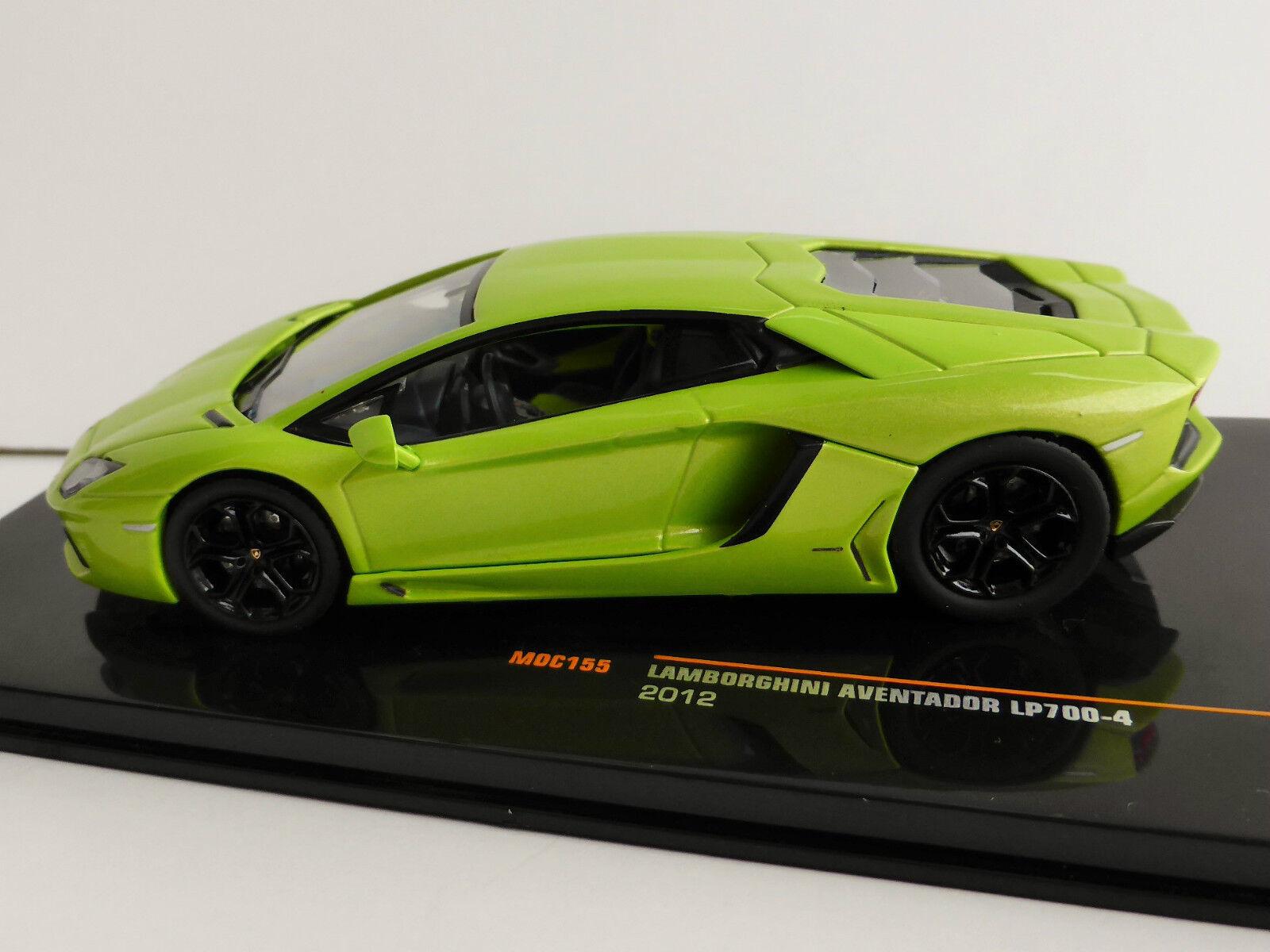 Lamborghini Aventador Lp700-4 2012 1 1 1 43 Ixo Moc155 LP 700-4 verde Metálico add77a