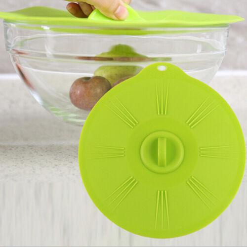 Silicone aspiration Couvercle Bol Pan Pot Couvercles Tasse Couvercle Cuisine Ustensiles de cuisine Outils