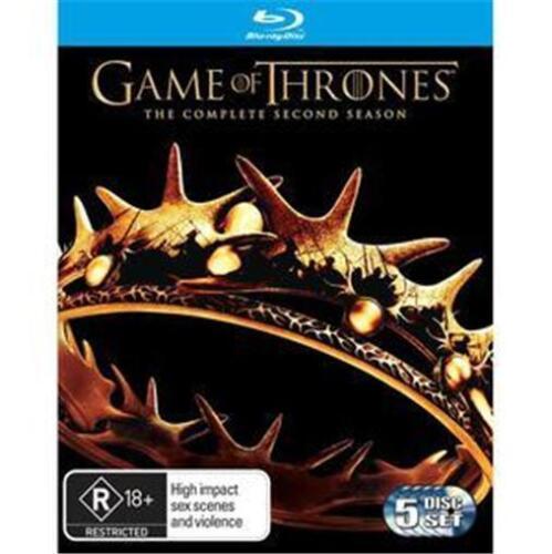 1 of 1 - GAME OF THRONES SEASON 2 : NEW Blu-Ray