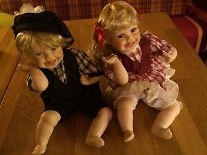 Puppen-Paerchen-Kuenstlerpuppen