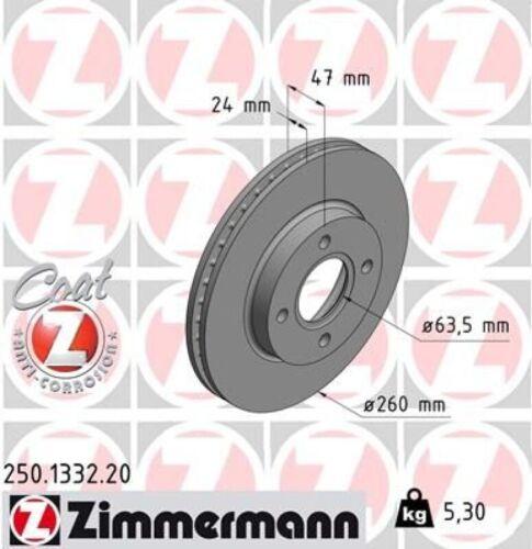 ZIMMERMANN Bremsscheiben Ø239mm Beläge VA Ford Mondeo 1 Bremsenreinger