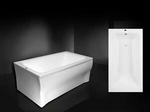 Vasca Da Bagno 100 70 : Quality rectangular acrylic bath talia bathtub full set