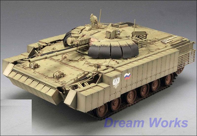 Ganador del premio construido Trumpeter  Bmp-3 Blindados Infantry Fighting Vehicle  PE