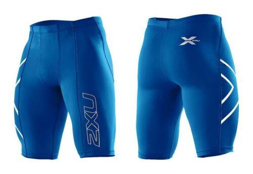 Bargain2XU Mens Compression ShortsRoyal Blue//Silver LogoFree Delivery**