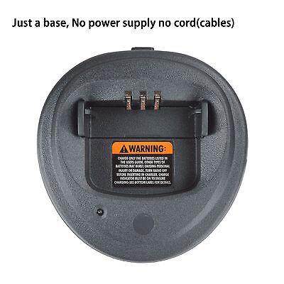 5x WPLN4138 Rapid Battery Charger Base WPLN4138 for Motorola Portable Radio