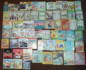 Lot Of 63 Vintage Children S Books 1950s 90s 60s 70s 80s Full Title