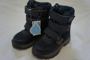 BNWT-INFANT-BOYS-NEXT-WATER-RESISTANT-NAVY-BLUE-3-STRAP-BOOTS-SIZE-4