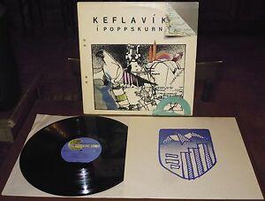 LP KEFLAVIK I POPPSKURN (Geimsteinn 79 ICELAND) Icelandic pop rock Baldursson NM