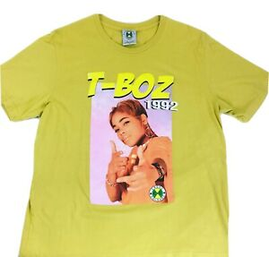 Vintage-Cross-Colours-shirt-T-Boz-1992-Hip-Hop-shirt-Rap-Tee-Cross-Colours-XL