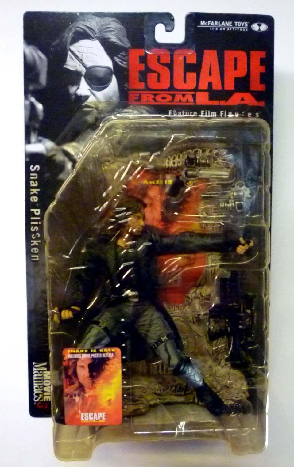 McFarlane giocattoli Movie uomoiacs Series  3 Snake Plissken  AF Kurt Russell nuovo 2000  si affrettò a vedere