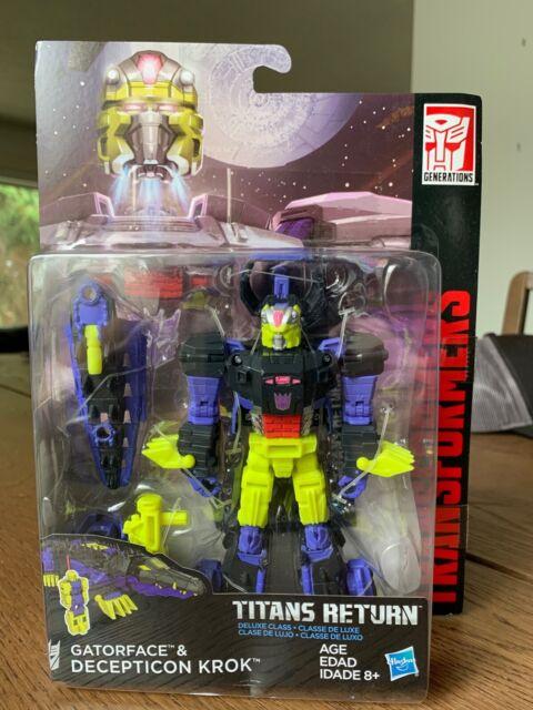 Transformers Titans Return Decepticon Krok and Gatorface