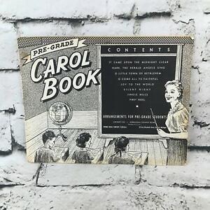 FidèLe Vintage 1956 Pré Grade Carol Livre Par Thomas Musique Classique Chansons De Noël Défaut-afficher Le Titre D'origine ModèLes à La Mode