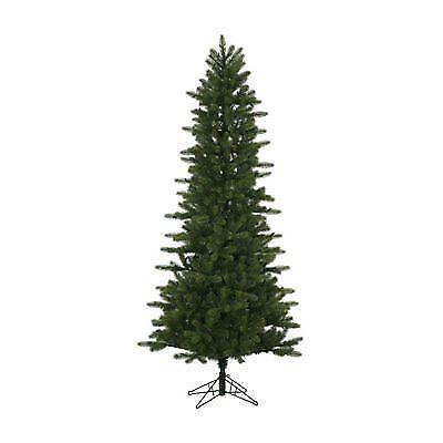 Vickerman Unlit 6.5' Kennedy Fir Slim Artificial Christmas ...