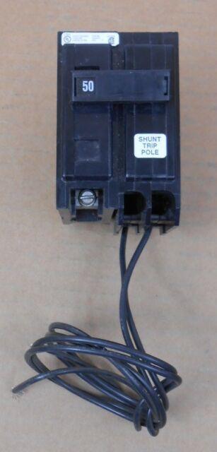 1 Cutler Hammer Ba Bab Bab1050s Circuit Breaker 50a 50 Amp 1p 240v Shunt Trip
