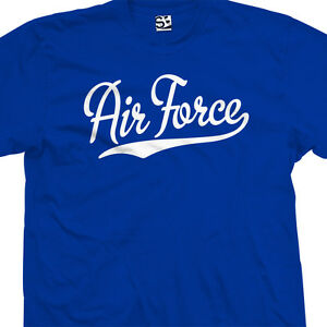 Air-Force-Script-amp-Tail-T-Shirt-USA-US-Military-Academy-All-Sizes-amp-Colors