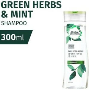 CLAIROL HERBAL ESSENCES Green Herbs & Mint Shampoo 300ml-Radiant, Hydrated Hair