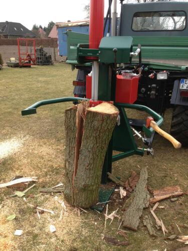 receta sofisticación troncos 30 toneladas hidráulica tirados Cortador de leña