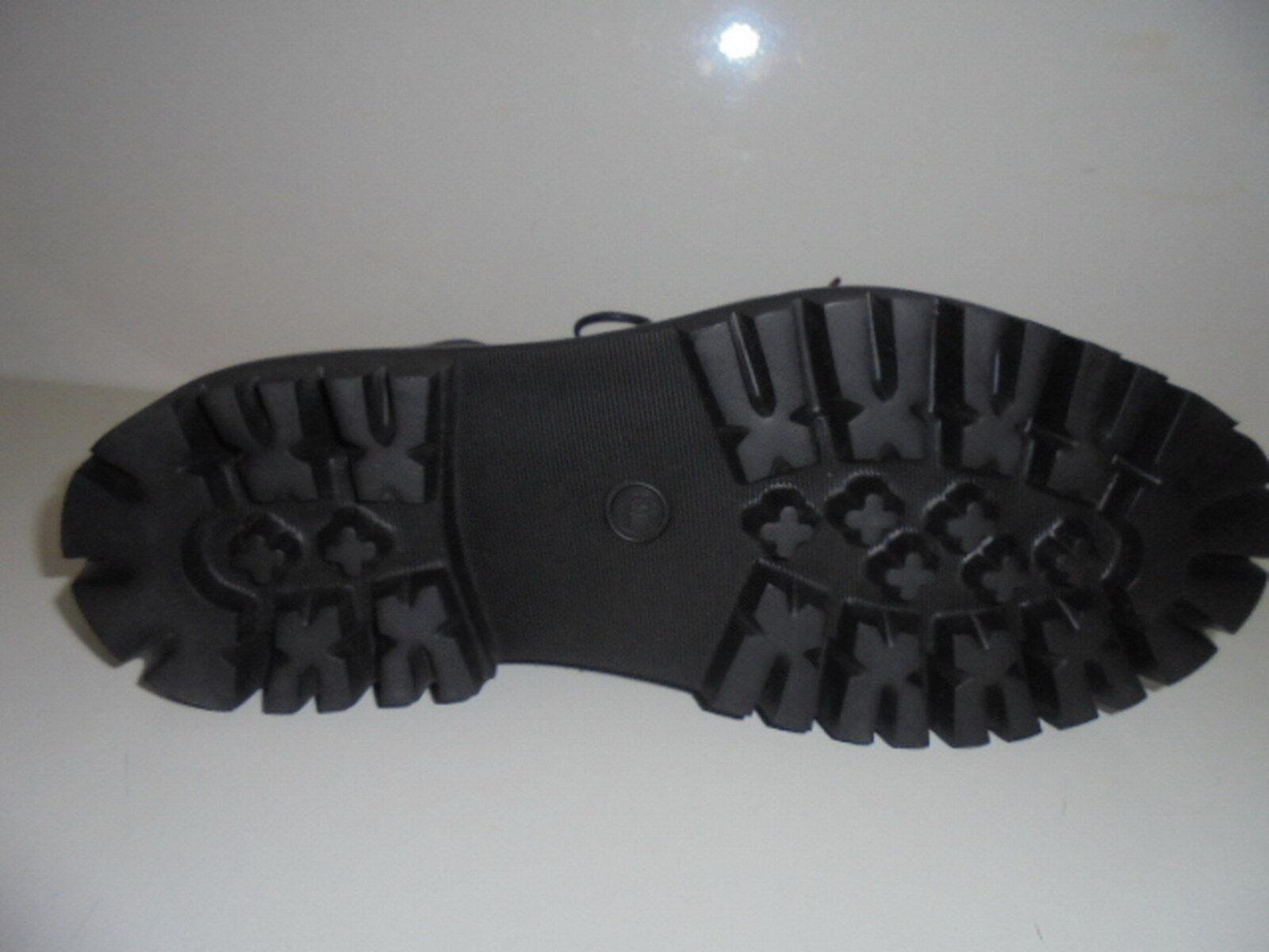 THINK! Herrenschuhe Boots Schnürer schwarz Leder für Einlagen Gr.44 Art.87632