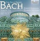 C.P.E. Bach: Sonatas for Harpsichord and Violin (CD, Jun-2014, Brilliant Classics)