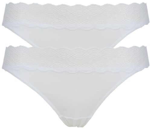Ex Store Multipack Cotton Rich Brazilian Style Knickers