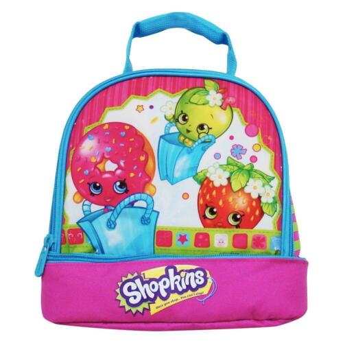 Shopkins Multi-Color Dual Compartment Lunch Bag P KVSFCP#5L0918