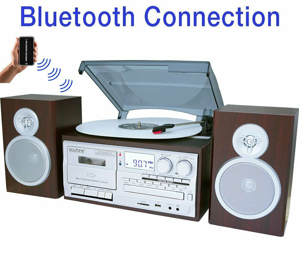 Bocinas Para Casa Barras De Sonido Con Amplificador Sistema Estereo FM blueetooth