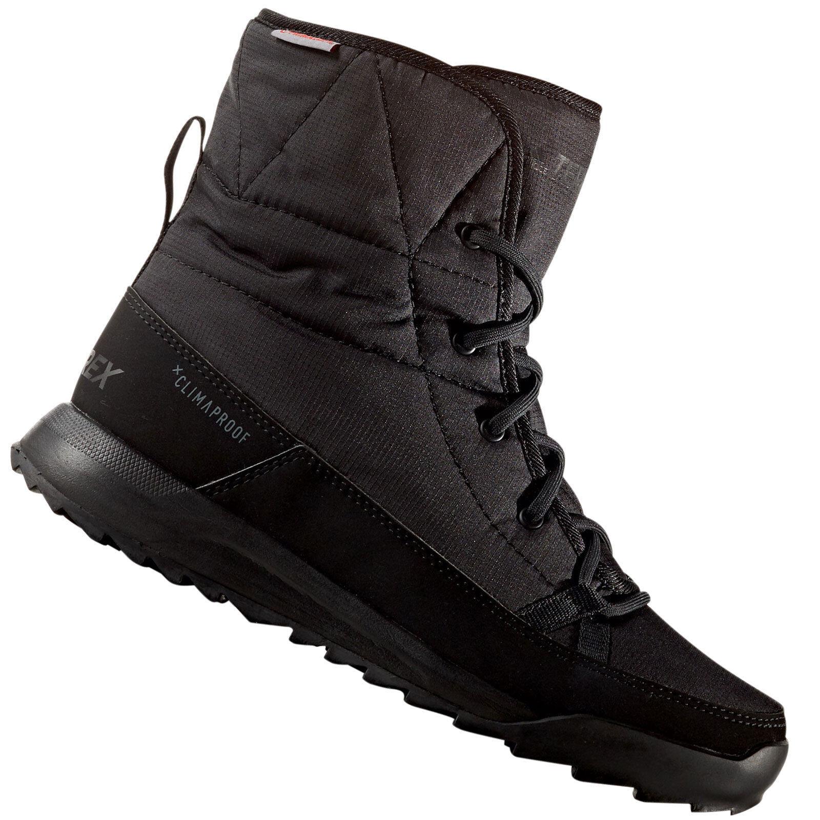 Adidas Performance choleah Acolchada zapatos invierno mujer De Cordones NUEVO