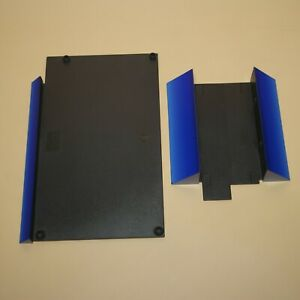 Sony-Playstation-2-PS2-Stand-Set-SCPH-10110-SCPH-10040-Blue-Gradient-Japan