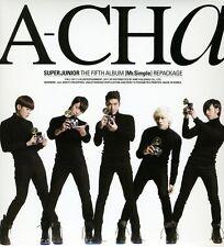 Vol. 5-[A-Cha] (Repackage) - Super Junior (2011, CD NUEVO)