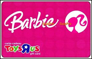 TOYSRUS-2008-BARBIE-DOLL-PINK-LIMITED-EDITION-BILINGUAL-COLLECTIBLE-GIFT-CARD